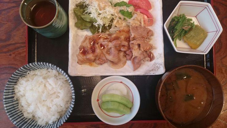 長篠食堂弁当